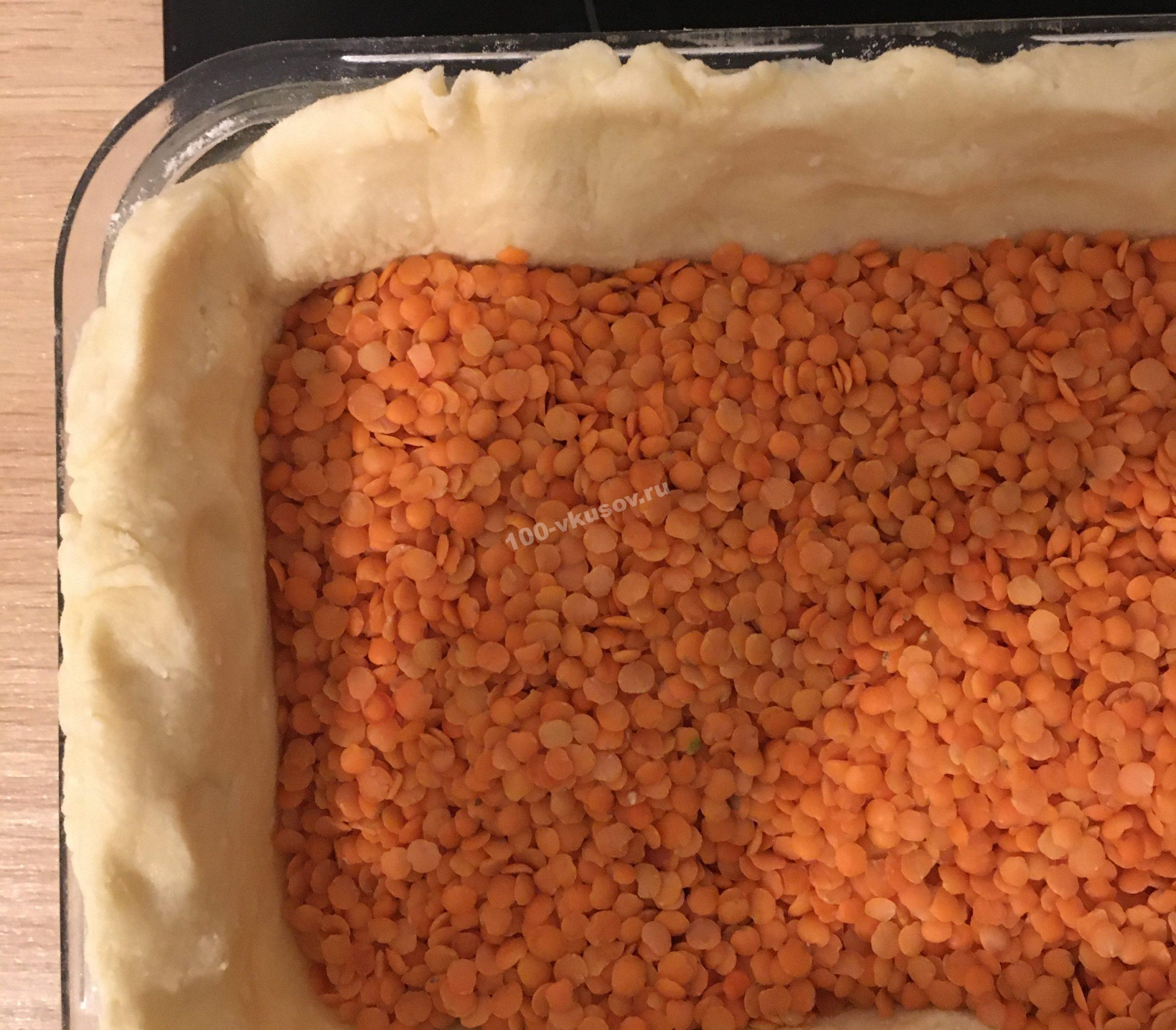 Подготовка основы для пирога