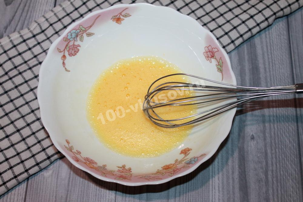 Взбиваем яйцо
