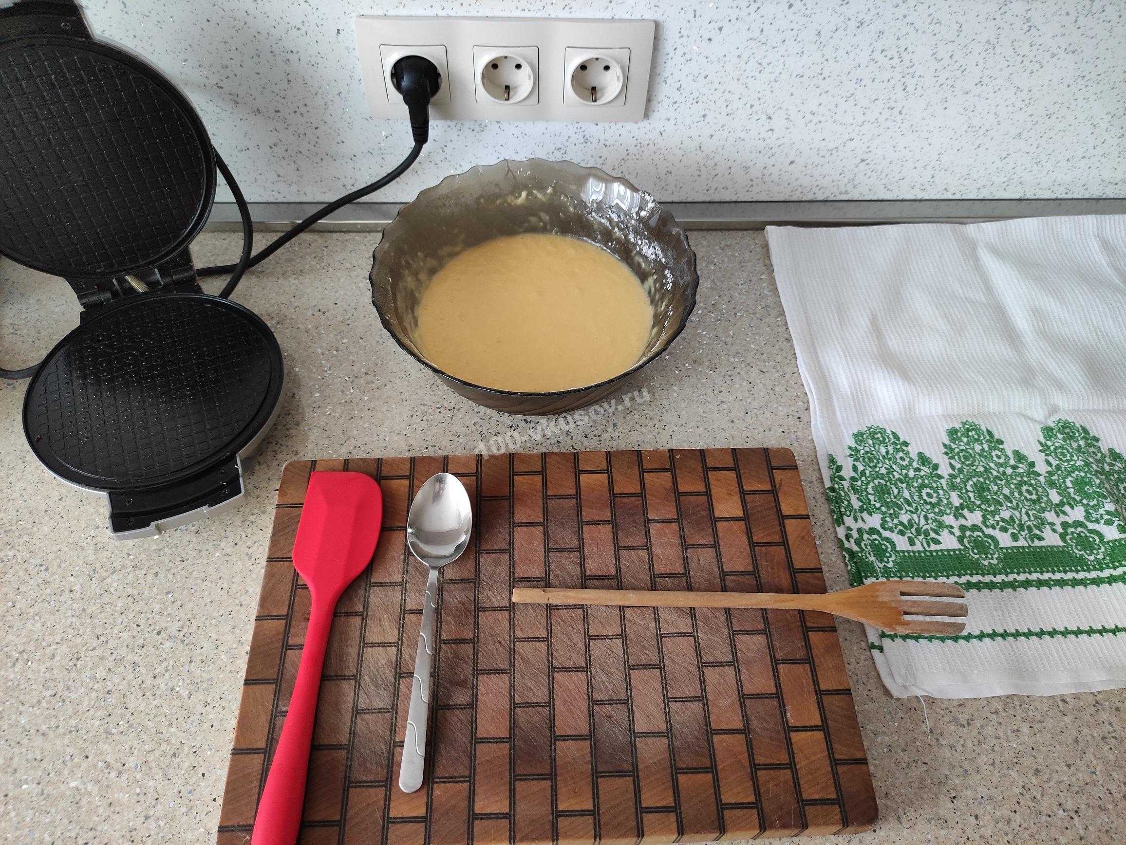 Инвентарь для приготовления вафель
