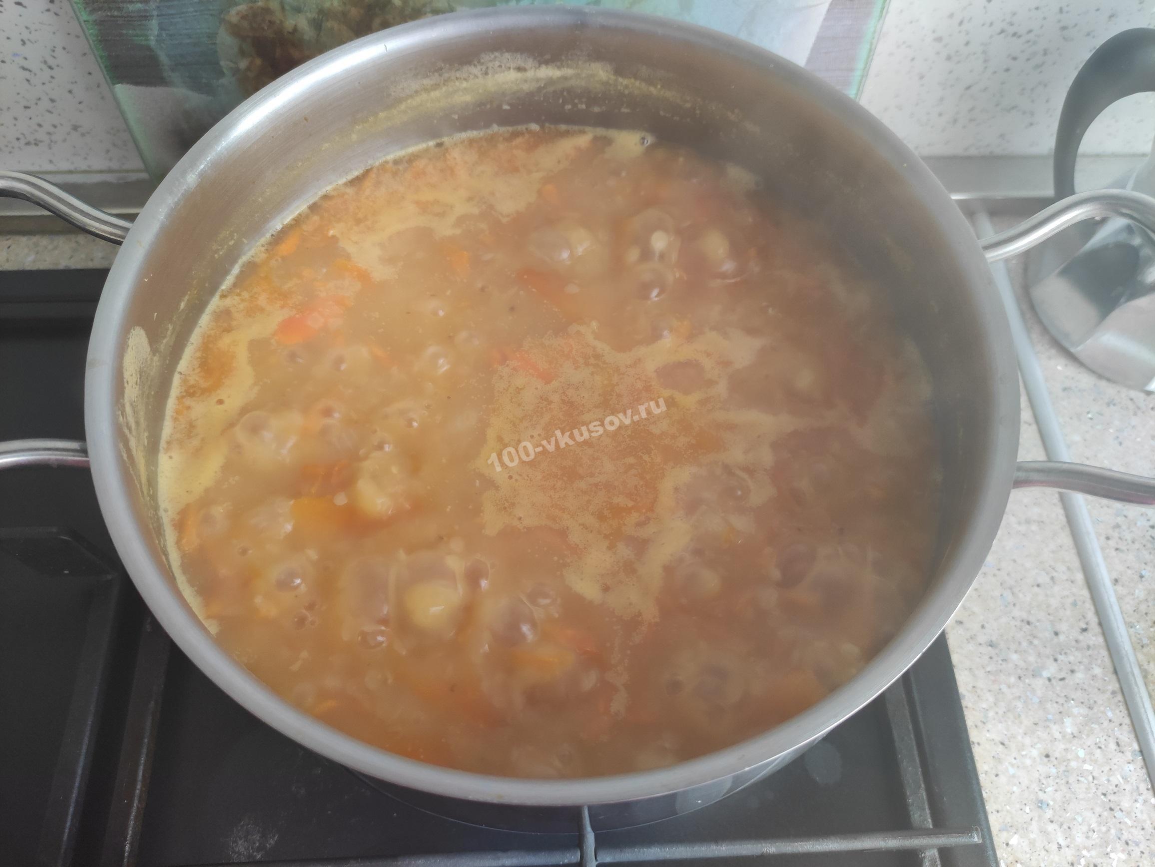 Кипящий суп