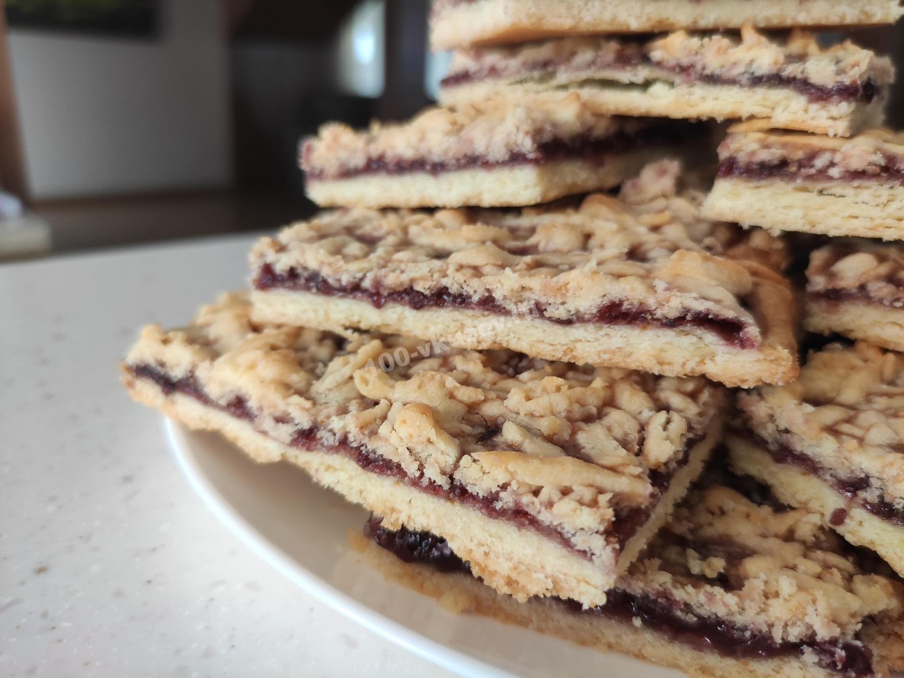 Готовое венское печенье
