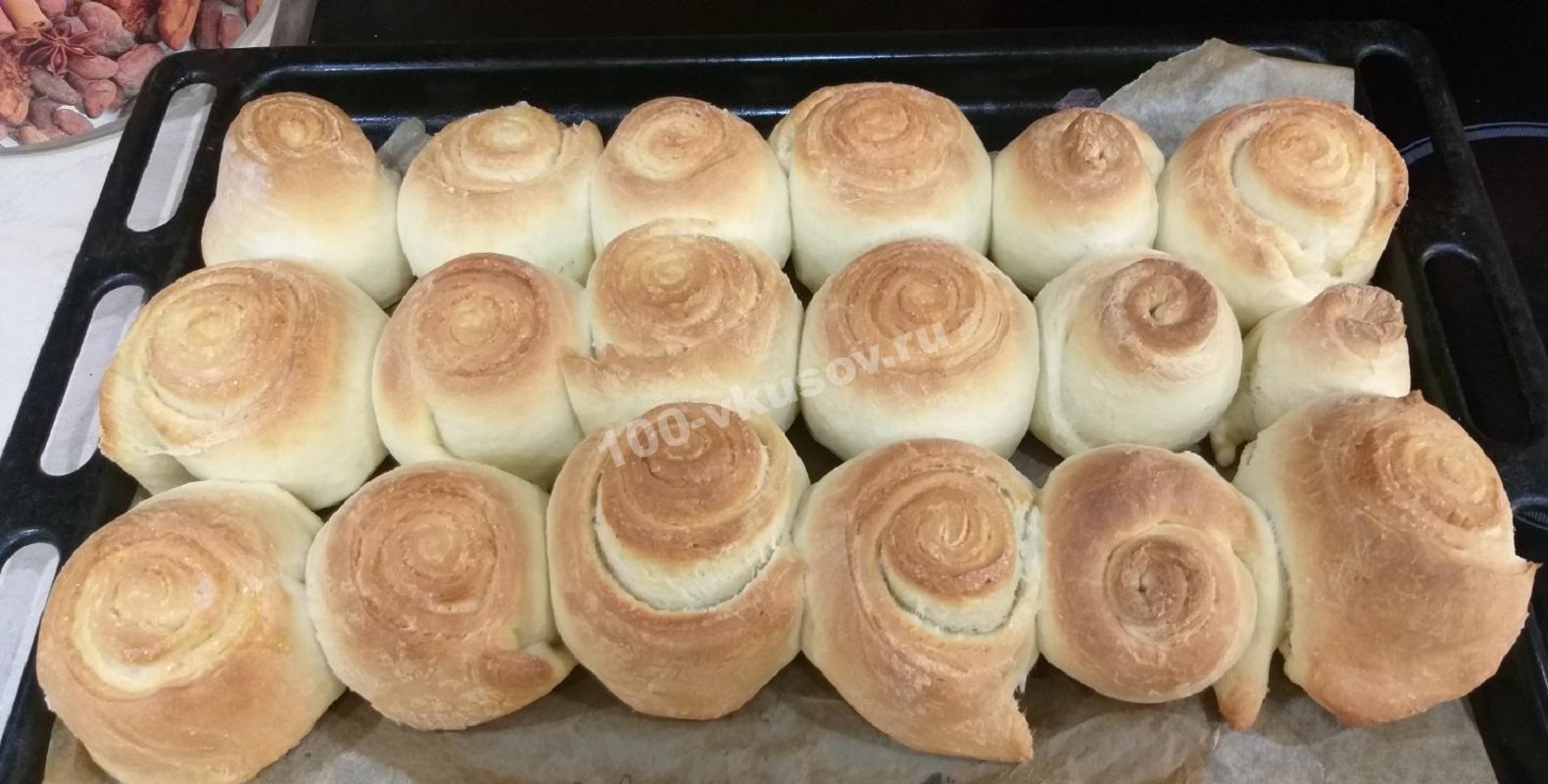 Готовые булочки «Улитки»