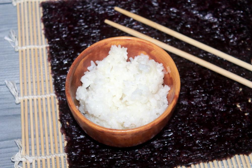 Готовый рис для суши