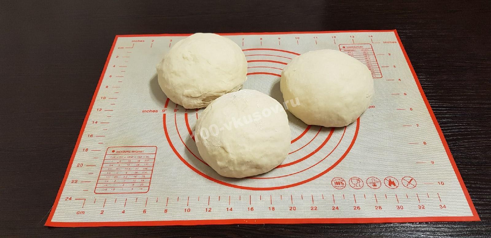 Готовое тесто для осетинского пирога