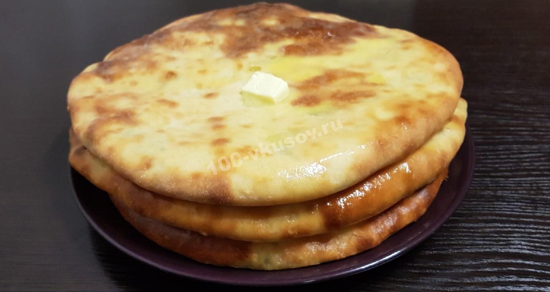 Готовые осетинские пироги