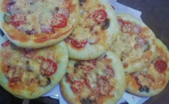 Школьная пицца
