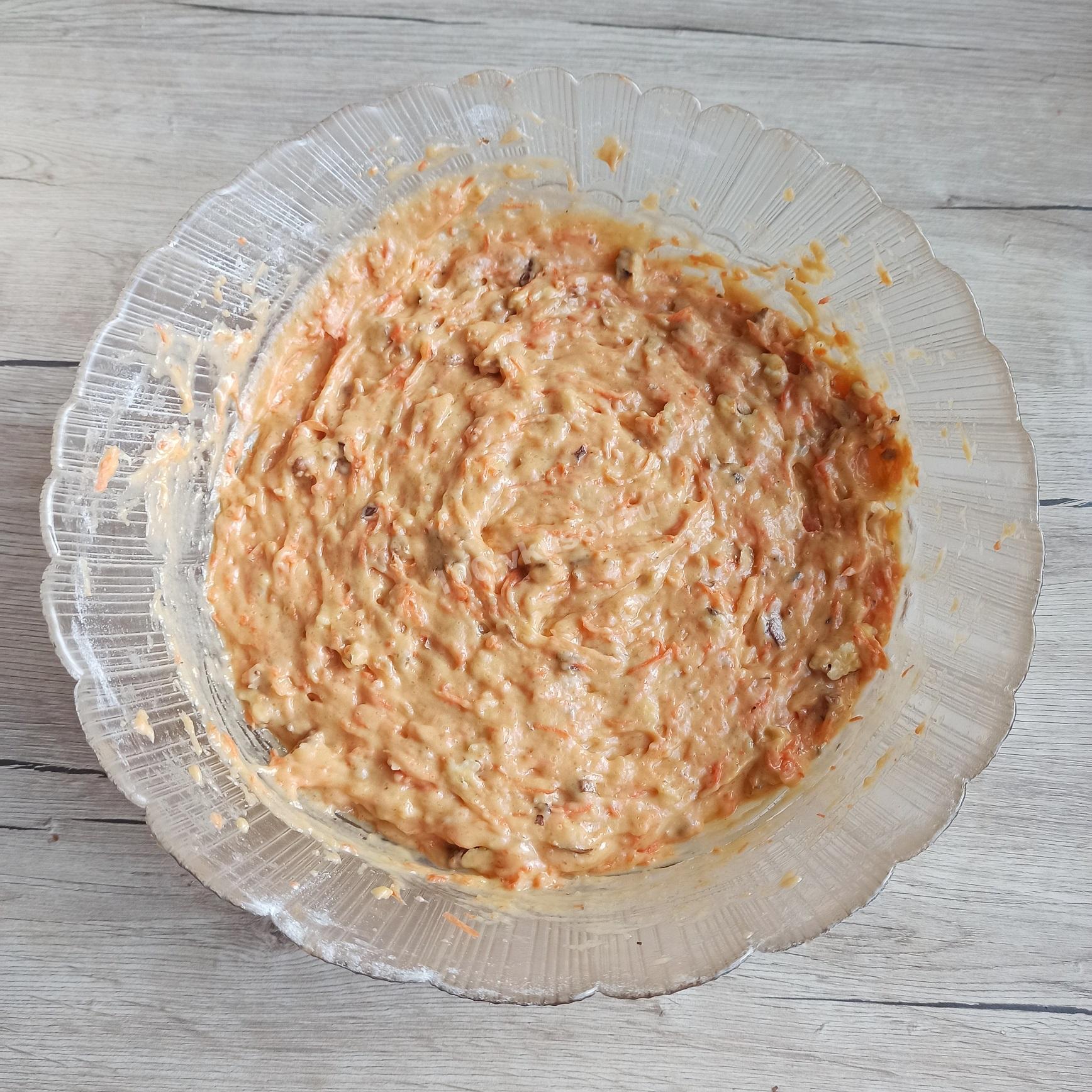 Тесто для морковного пирога