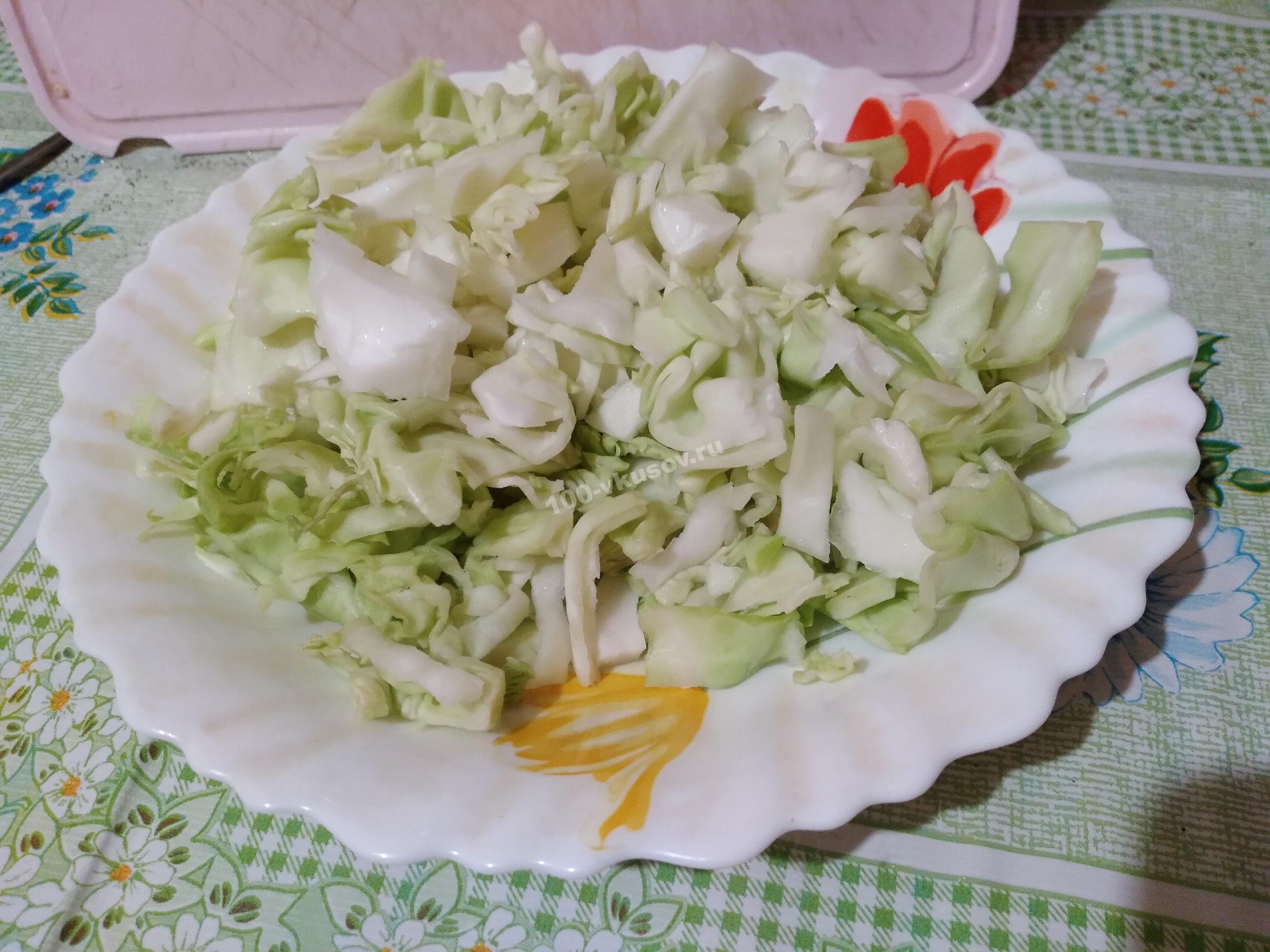 Шинкуем капусту