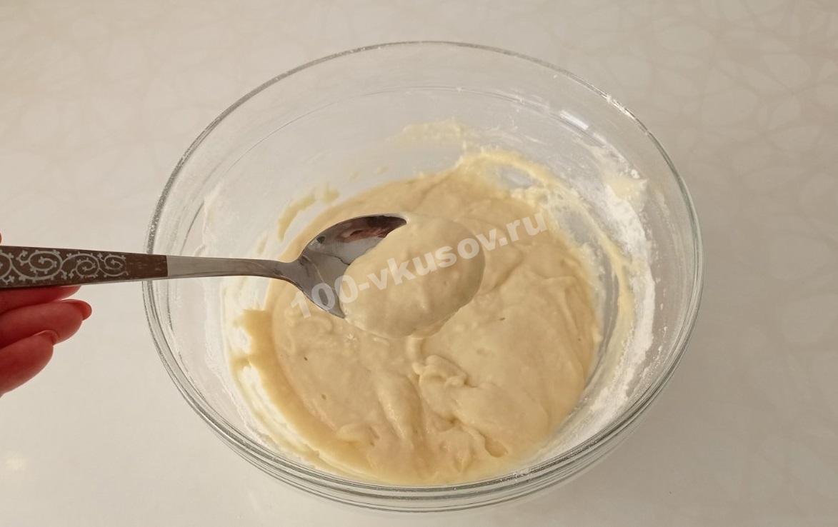 Тесто для оладьев на йогурте