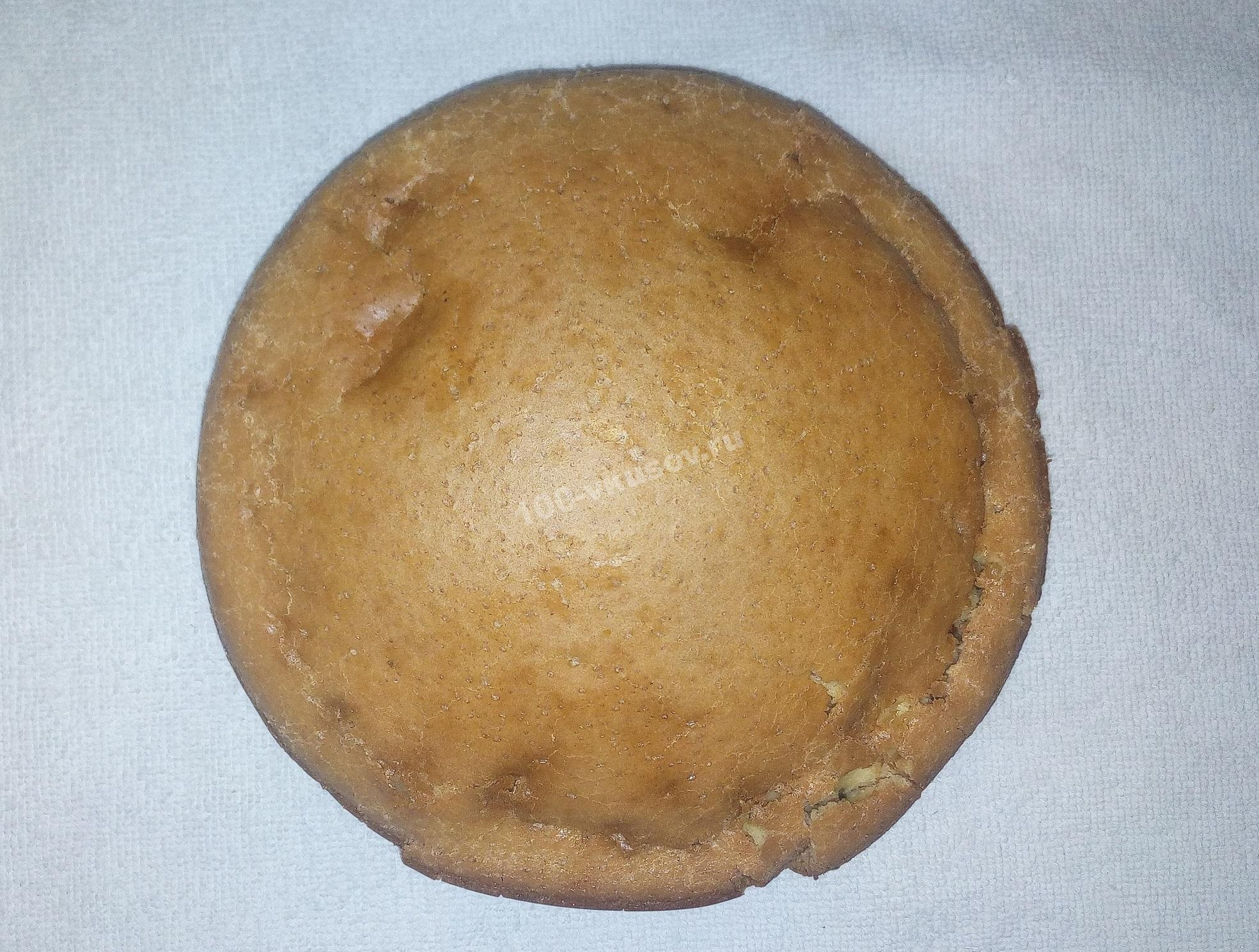 Готовый бисквитный корж