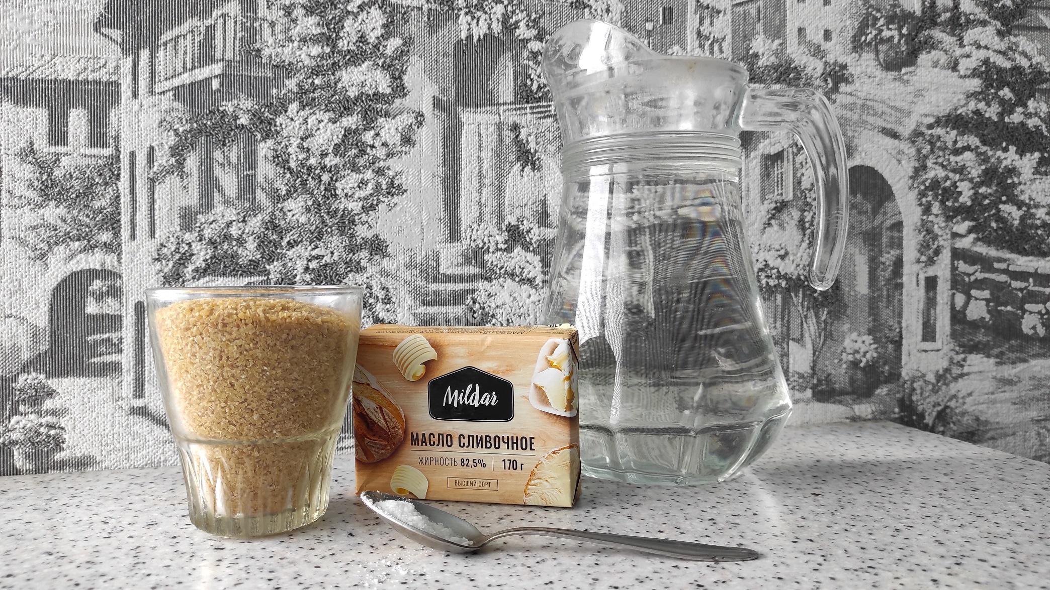 Ингредиенты для пшеничной каши