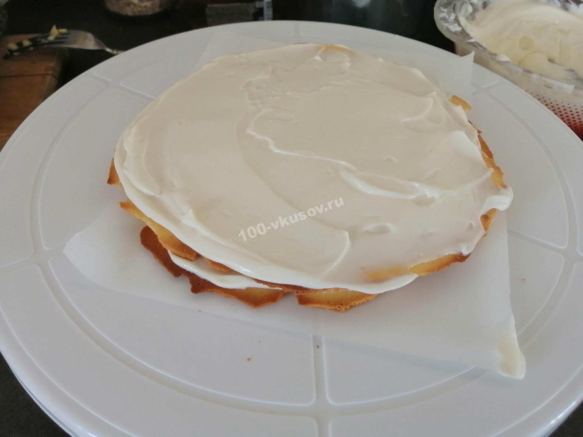 Собираем торт Молочная девочка