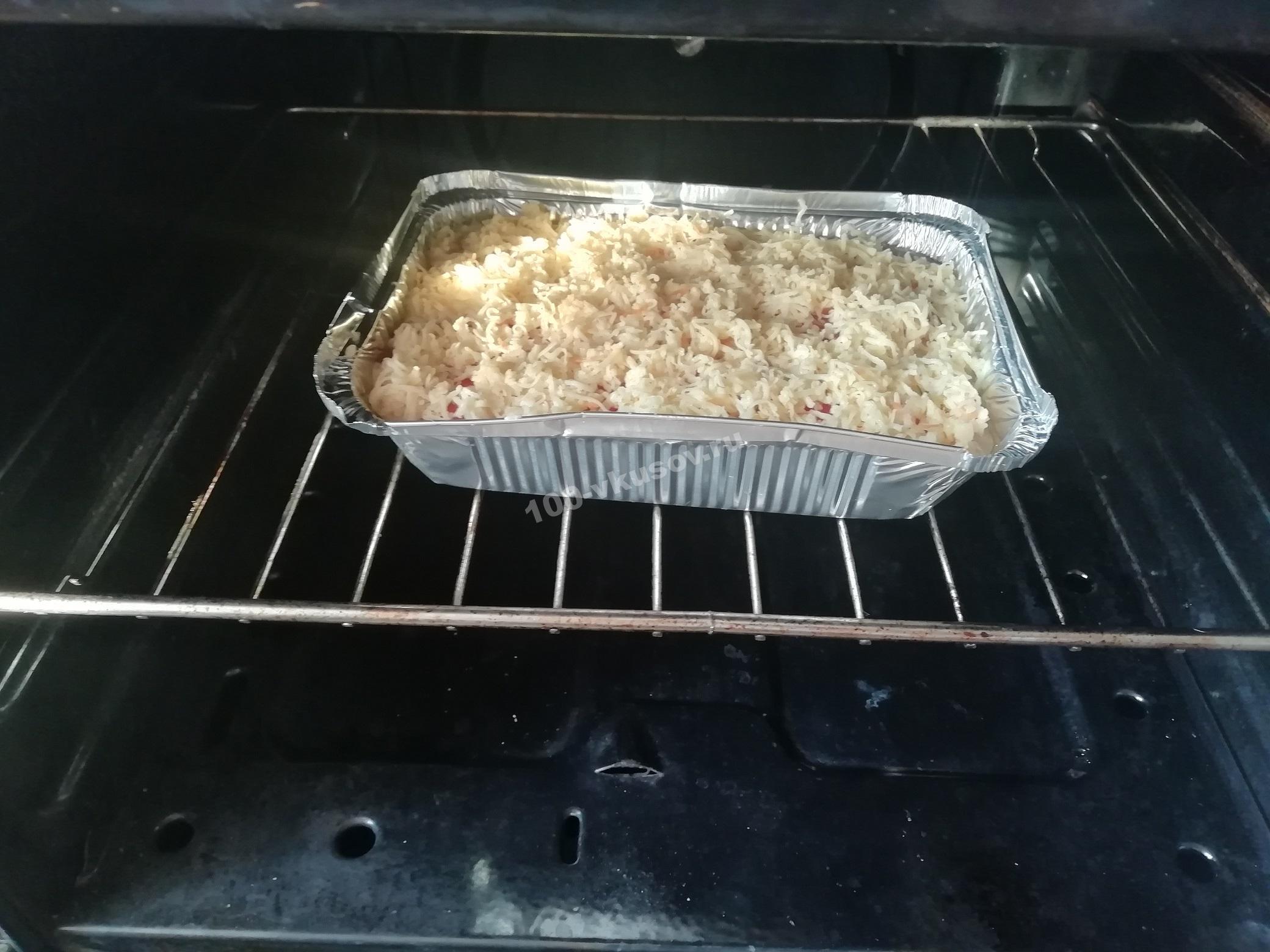 Запеканка из картофеля и кабачков в духовке
