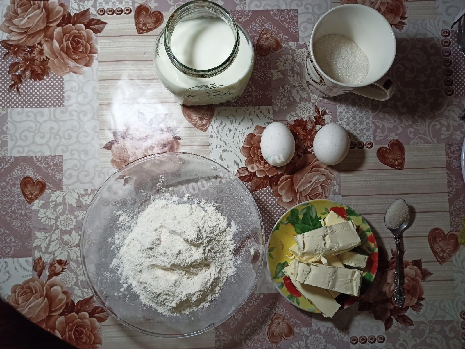 Ингредиенты для крема торта Спартак