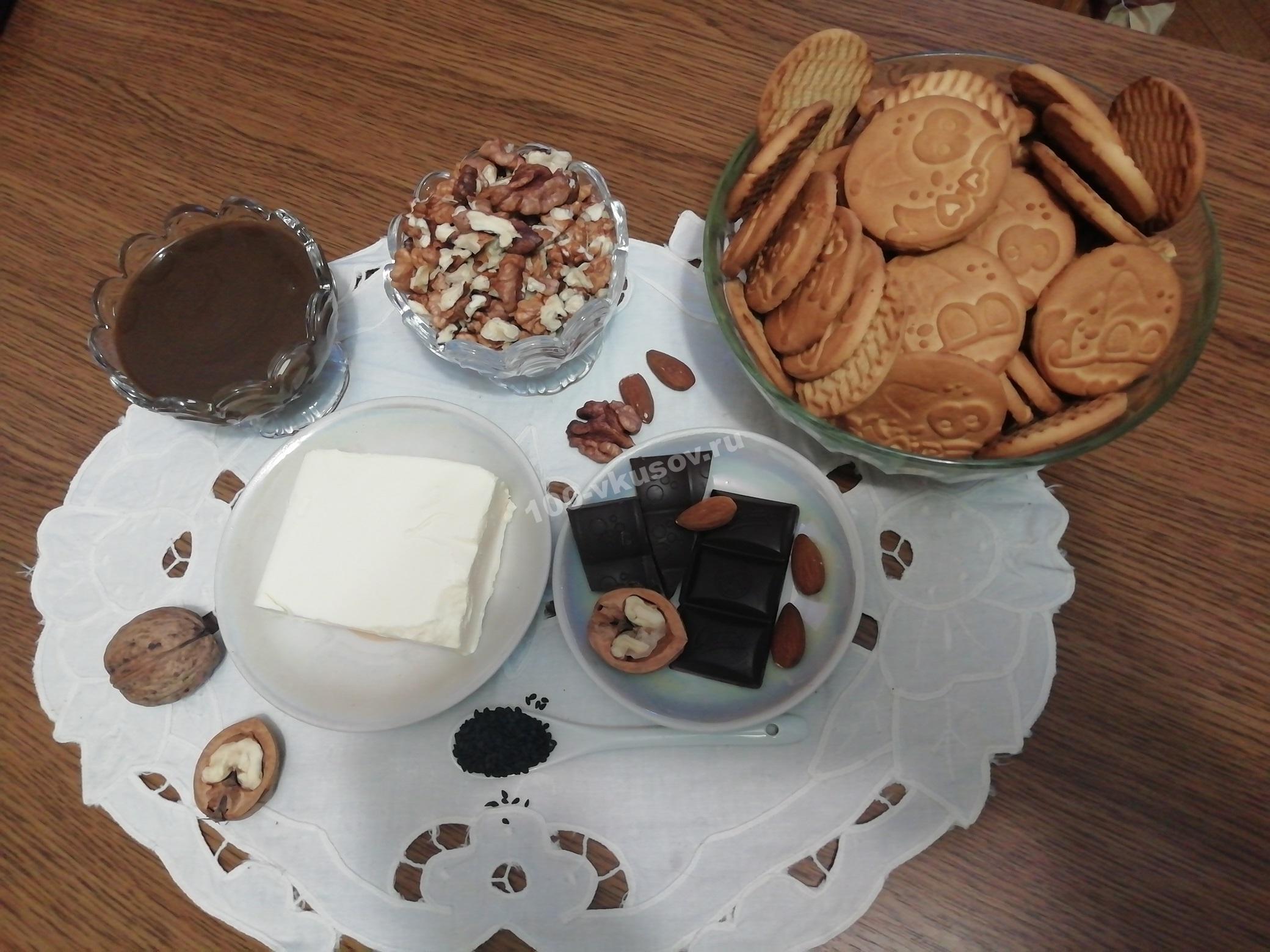 Продукты для торта Муравейник