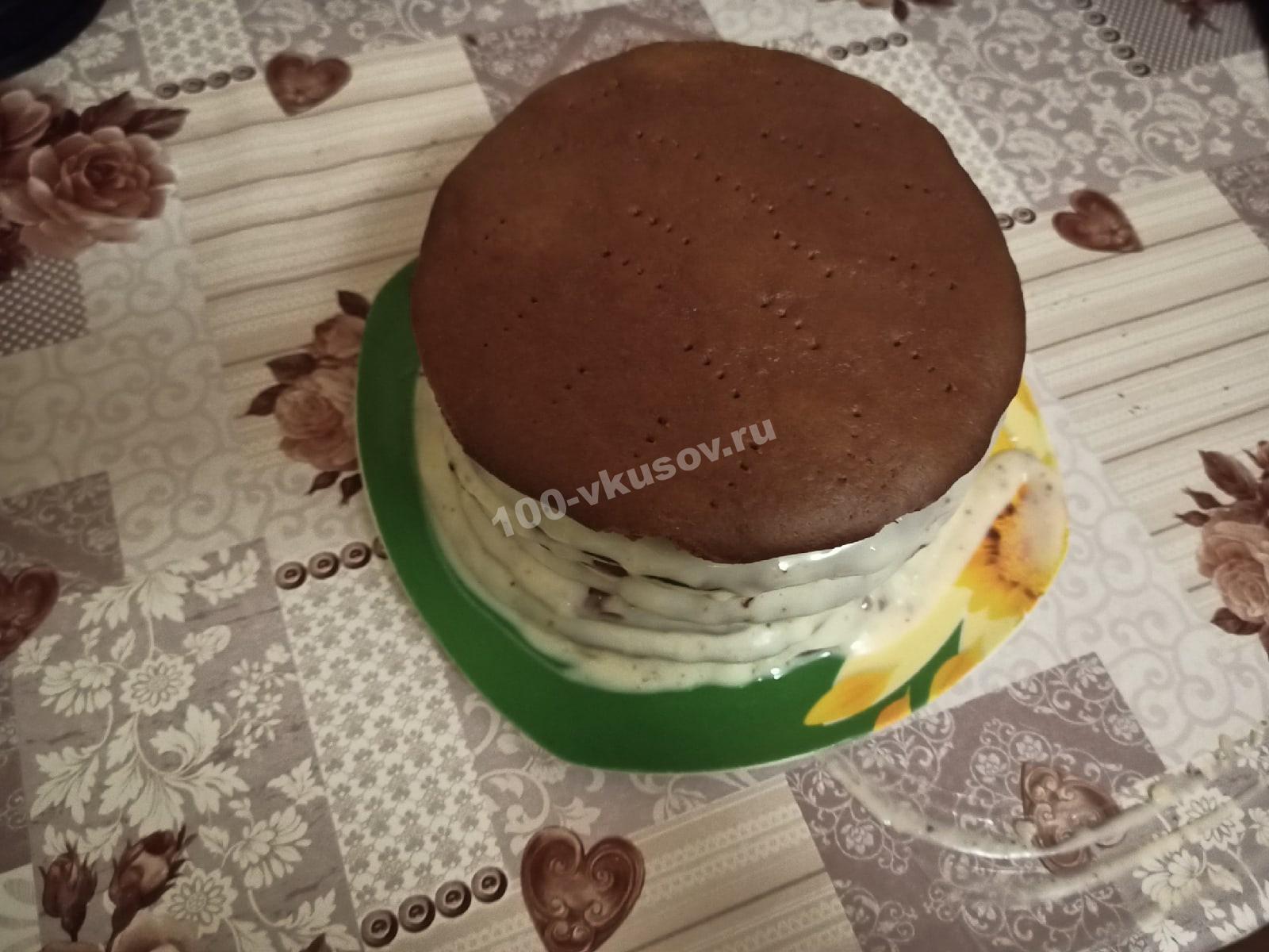 Собираем торт Спартак