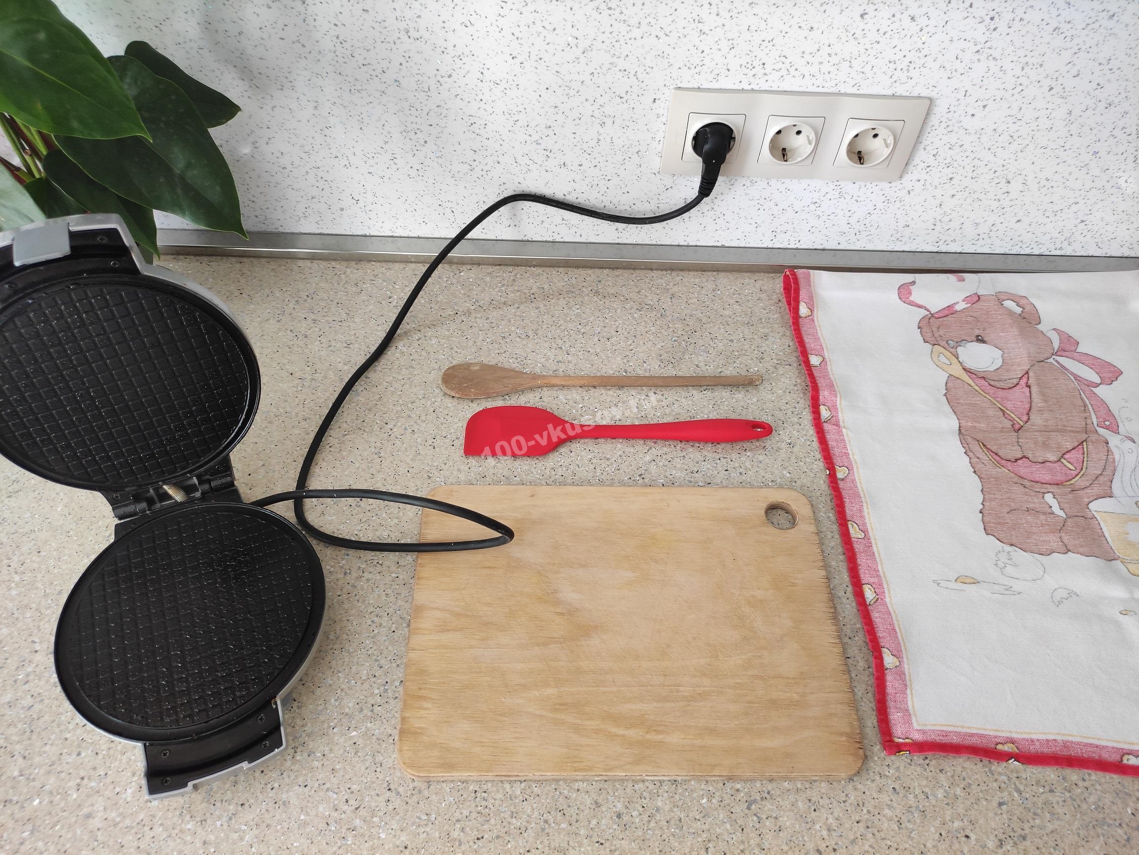 Инвентарь для приготовления вафельных трубочек