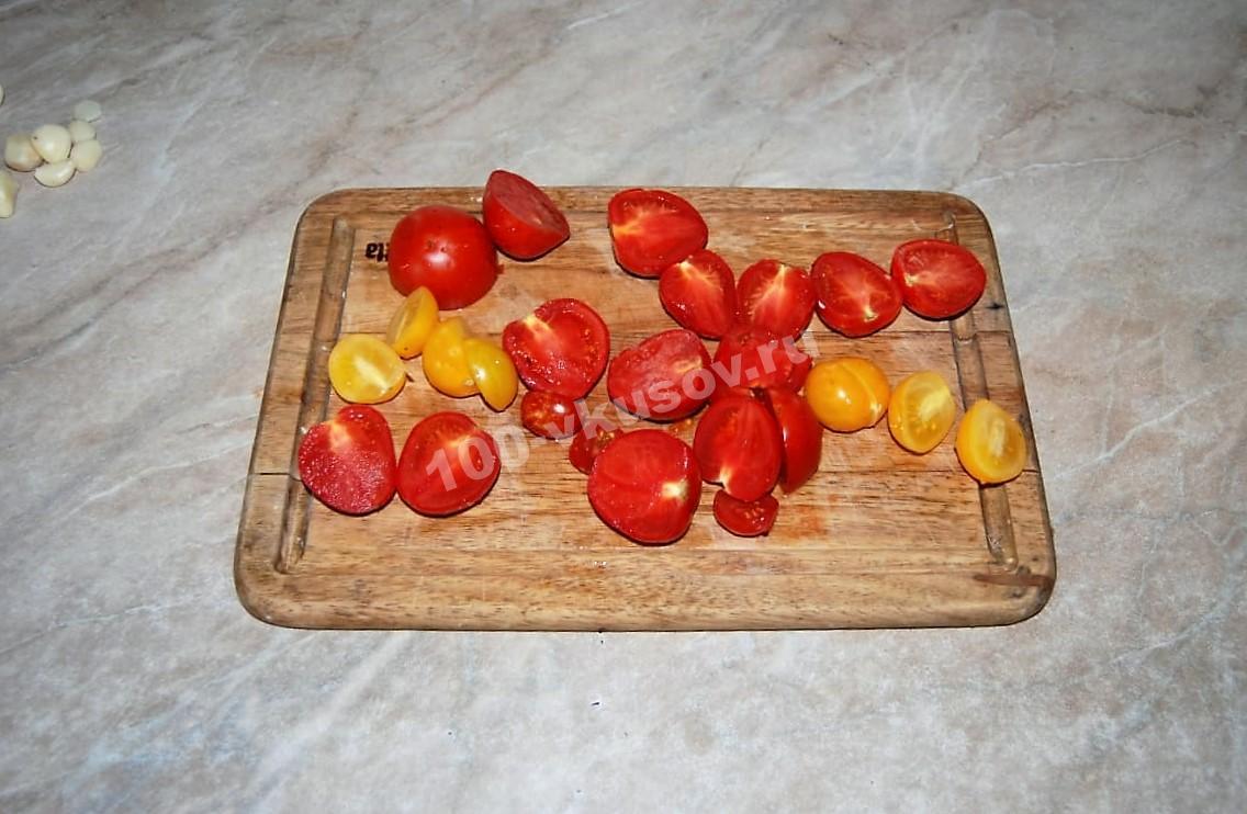 Нарезанные помидоры