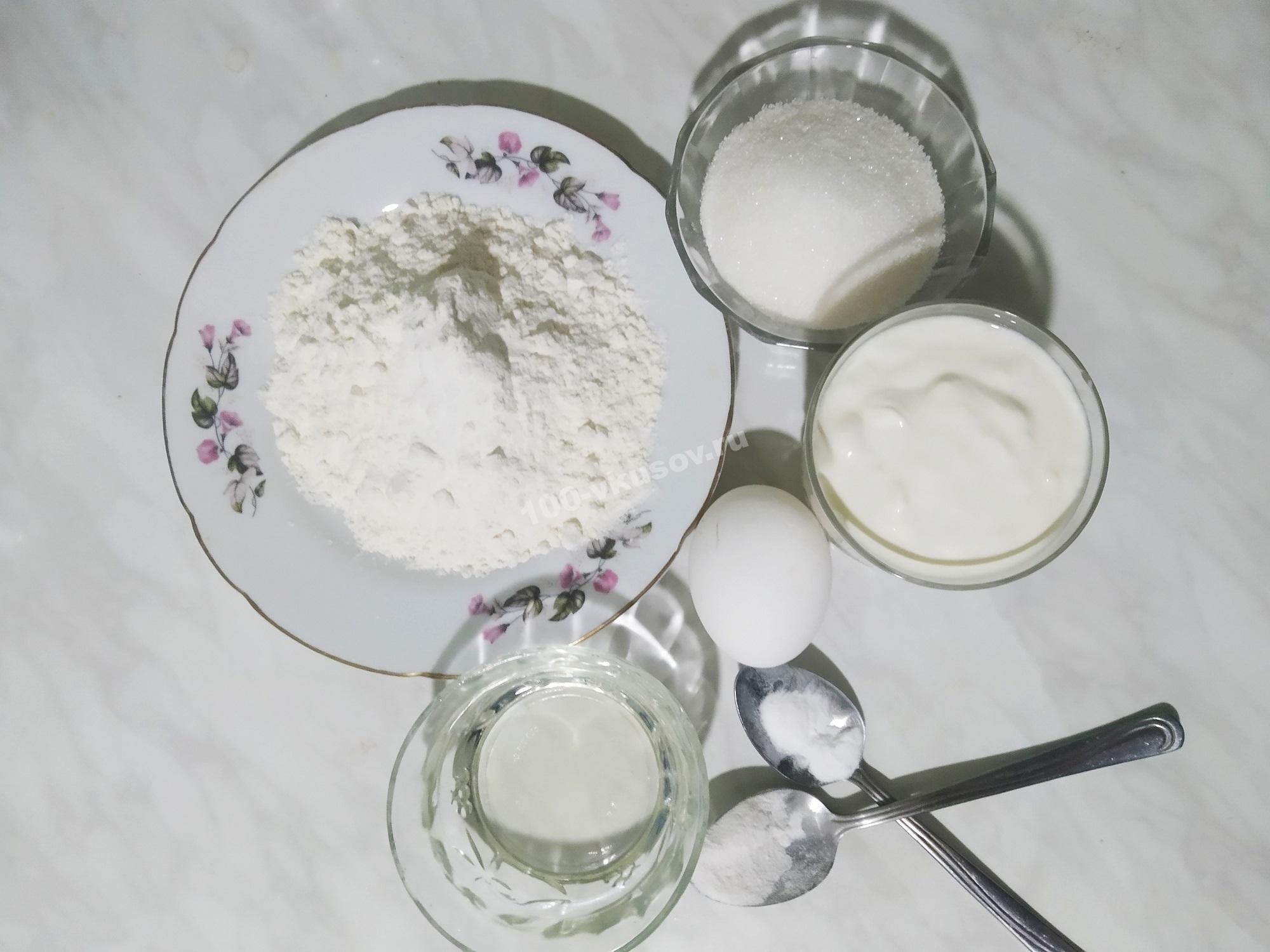 Продукты для наливного теста