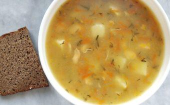 Суп гороховый без мяса