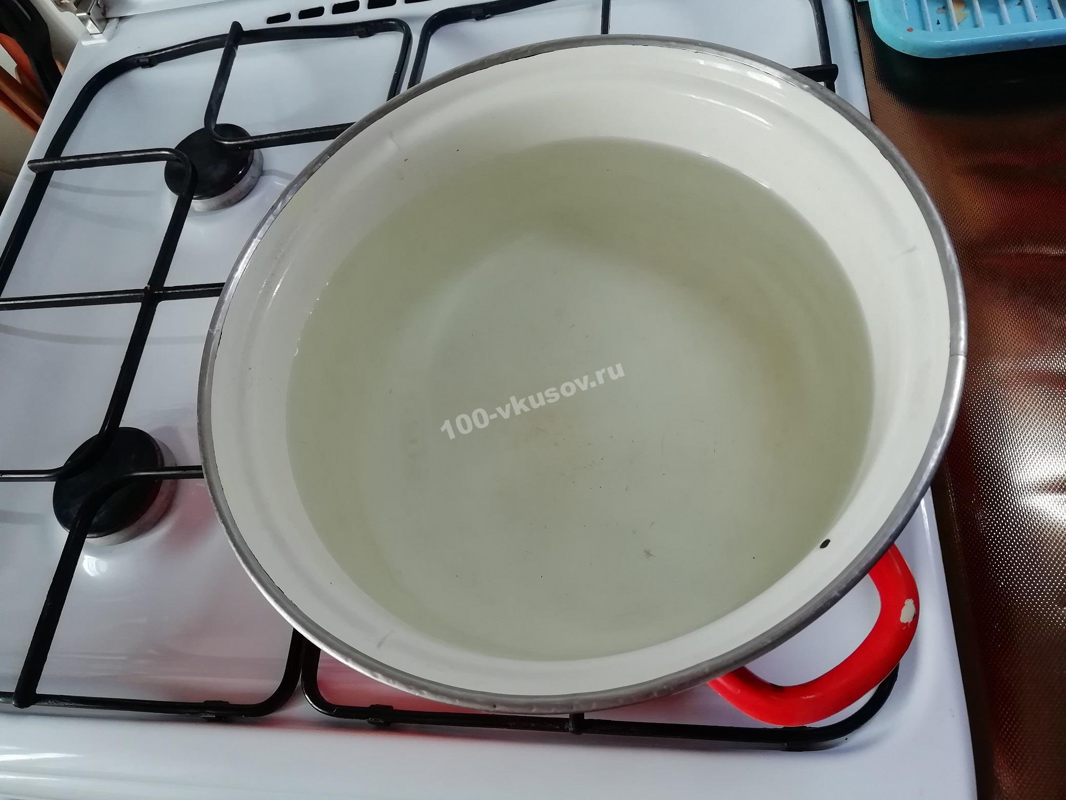 Вода для компота