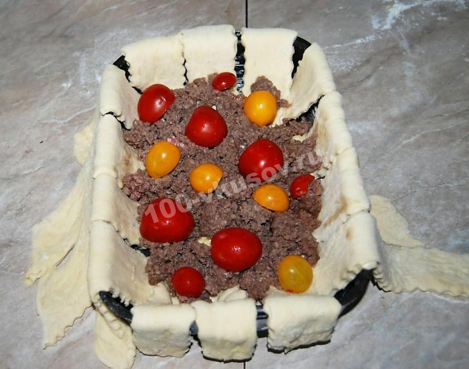 Второй слой греческого пирога