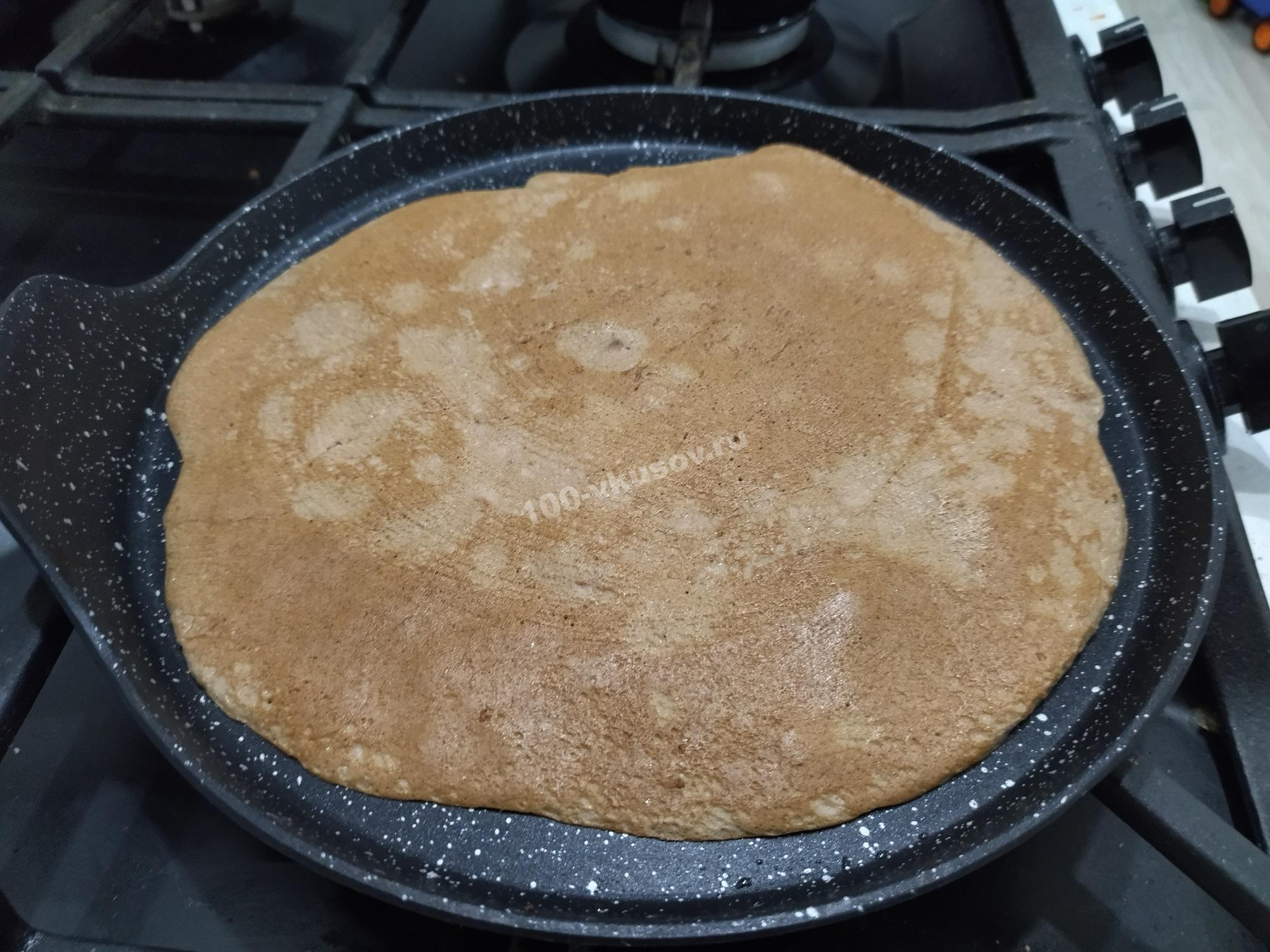 Блин для печеночного торта