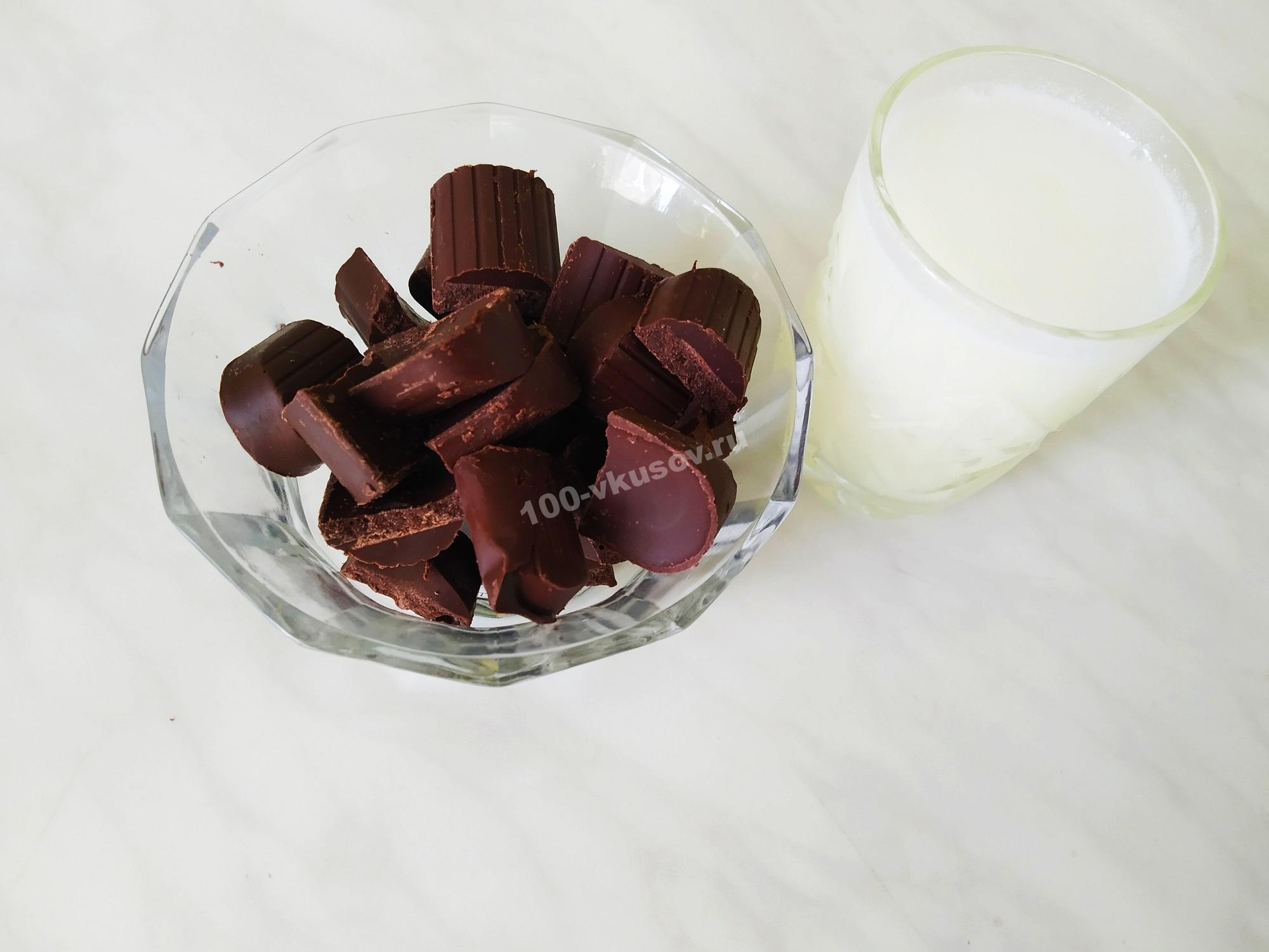 Шоколад и сливки